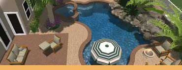 Las Vegas Pool Construction Company, Pool & Spa Constractor, Custom Pool Swimming Builder, Pool Renovations, Water Features, Landscaping, Laguna Pools & Spa - las vegas pool construction - Laguna 3D Modeling and Design