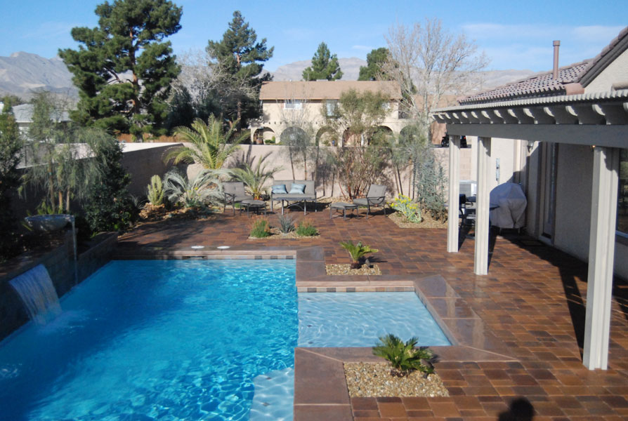 Testimonials las vegas pool construction company pool for Pool designs venice