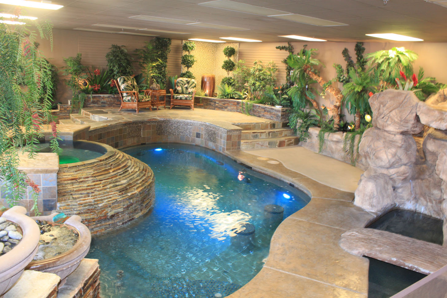 Our Showroom Las Vegas Pool Construction Company Pool