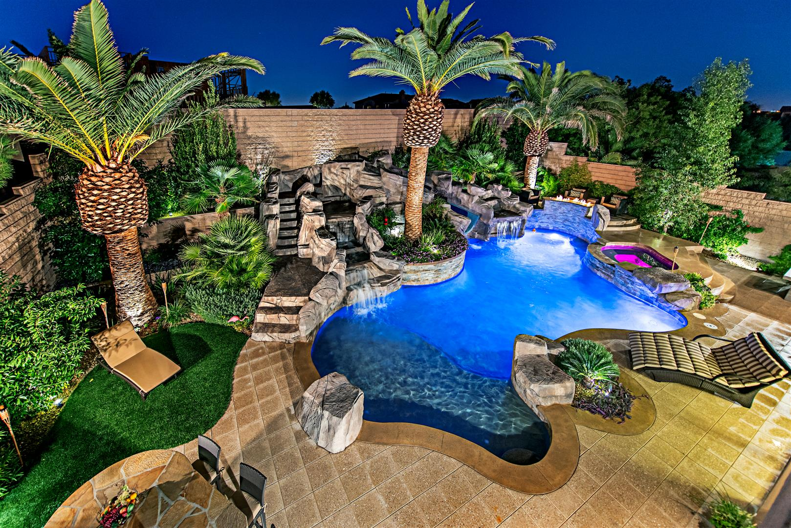 Landscaping Services - Las Vegas Pool Construction Company Pool ...